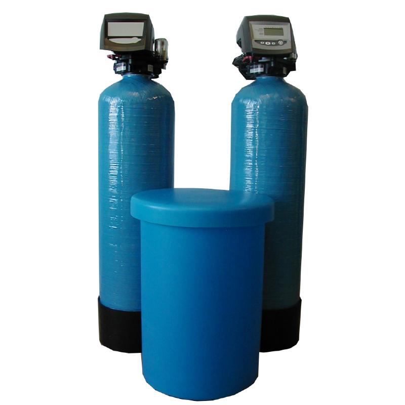 Twin Tank Water Softener Duplex Industrial Water Softeners - GM Autoflow